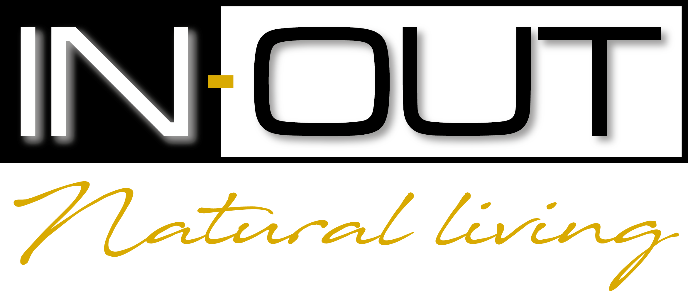 logo in out natural living